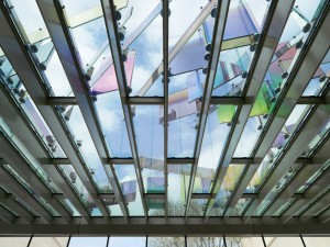 Glass roof by Raphael Hefti