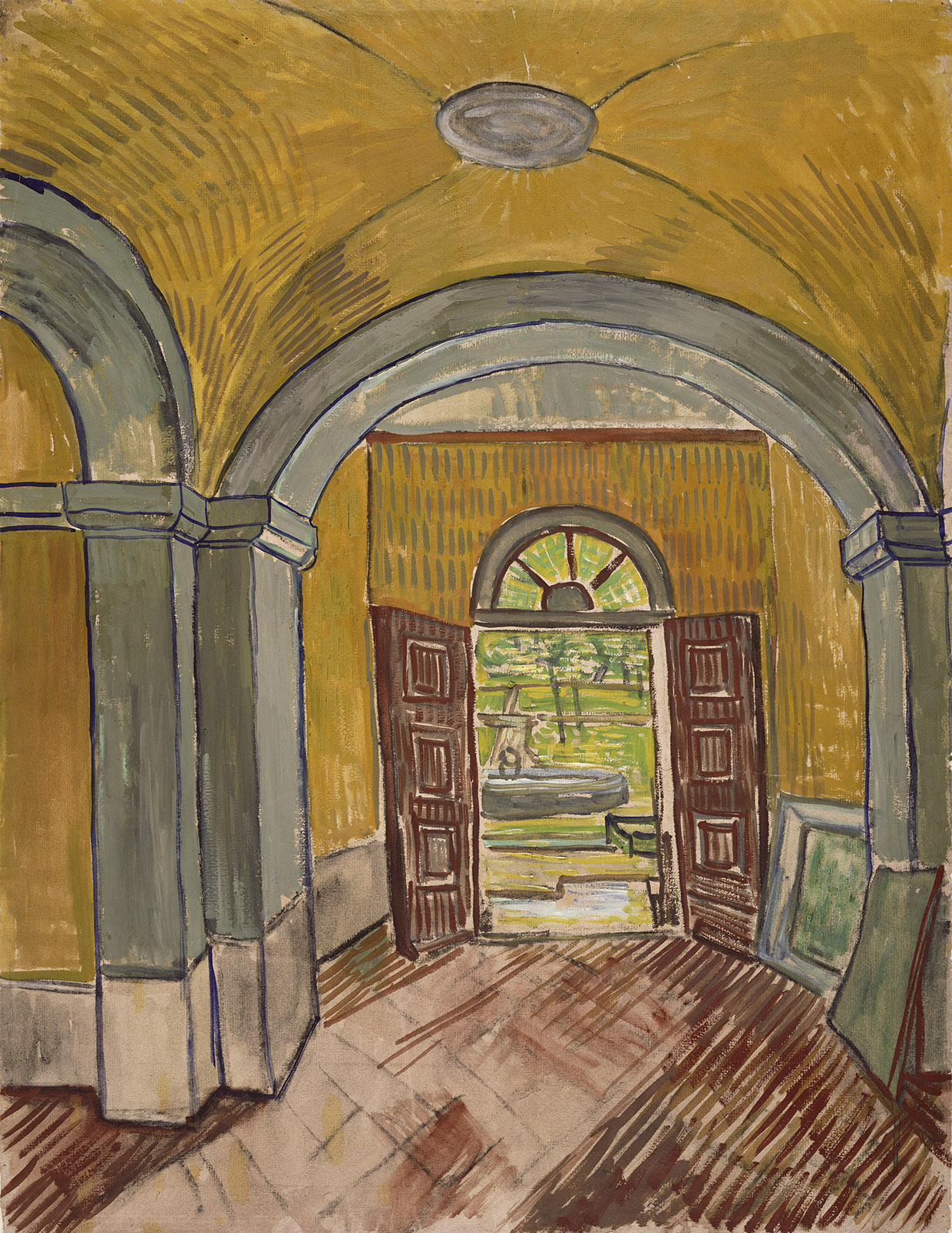 Les dessins de van gogh influences et innovations for De slaapkamer vincent van gogh