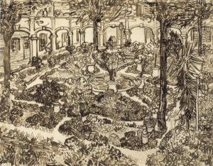 garden of the hospital