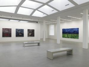 Salle d'exposition Yan Pei-Ming