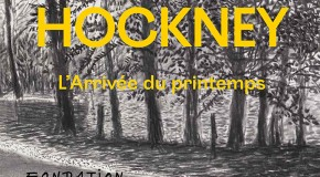 David Hockney :  L'Arrivée du printemps (2015)