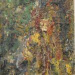 "Eugène Leroy, ""Grand homme jaune"", 1989"