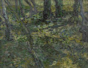 Vincent van Gogh, Sous-bois, 1889