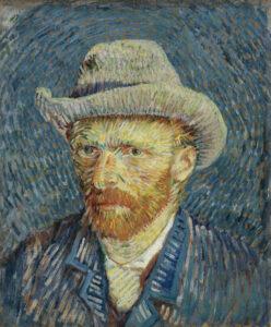 Vincent van Gogh, Autoportrait au chapeau de feutre gris, 1887, Van Gogh Museum, Amsterdam (Vincent van Gogh Foundation)