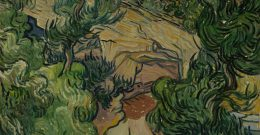 "Van Gogh's painting ""Entrance to a Quarry"""