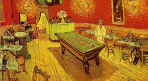 Van Gogh paintings in Arles: colours and brushstrokes