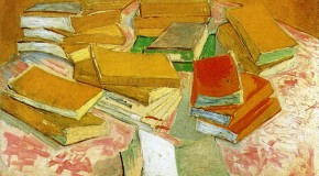 "Van Gogh's painting ""Piles of French Novels"""
