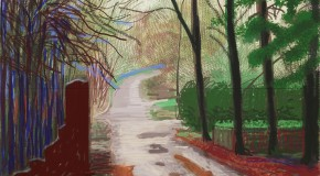 David Hockney « L'Arrivée du printemps »